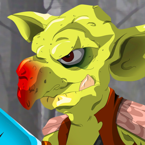 Goblin - Voice Pack is a collection of over 400 Sound files including 150+ English phrases and words, 15+ Words in an made up language and a bunch of Screams, Grunts, Hurt-sounds, Laughs, Growls, Hits and Death-sounds.