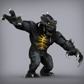 This monster will fit in almost any game genre.
