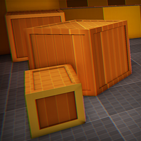 Package with 73 modular shapes, 15 blueprints and 2 materials for blocking out levels.
