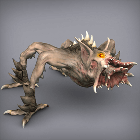 This animated monster will be ideal for a wide variety of projects from medieval fantasy to Sci Fi.