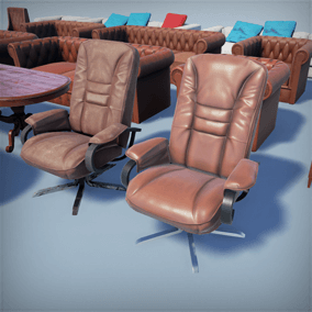 HQ furniture pack contains 15 different high quality models of furniture.