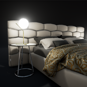 This pack contains 14 high quality models of modern style furniture with powerful master materials customization.