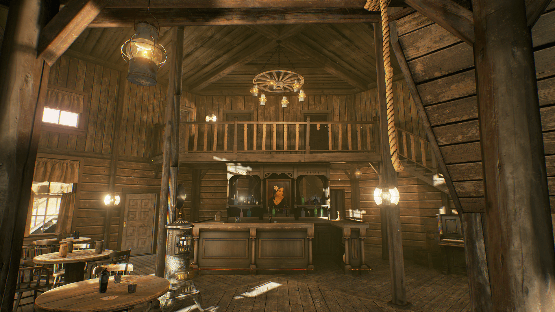Hq western saloon by notlonely in environments ue4 for Salon western