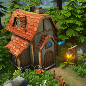 This pack contains a wide range of vegetation, buildings, obstacles, ancient ruins and other props.