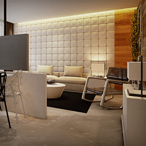 This is the architectural visualization projects an apartment in Hangzhou.