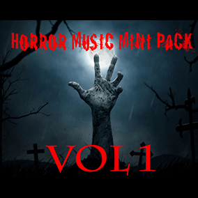 Horror Music Mini Pack Vol 1 , 2 soundtracks and 3 ambient for horror themed video games . This pack is ideal for horror game creator who are looking to take their game to the next level by adding this high quality mixed and mastered tracks.