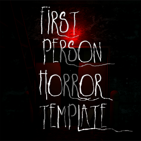 A feature complete template for first-person horror games. 100% blueprint containing features such as a note system, interactable physics, footsteps, player health and stamina regeneration, flashlight mechanics, and more!