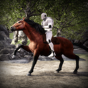 Add rideable horses to your game. Entire pipeline included, very customizable.