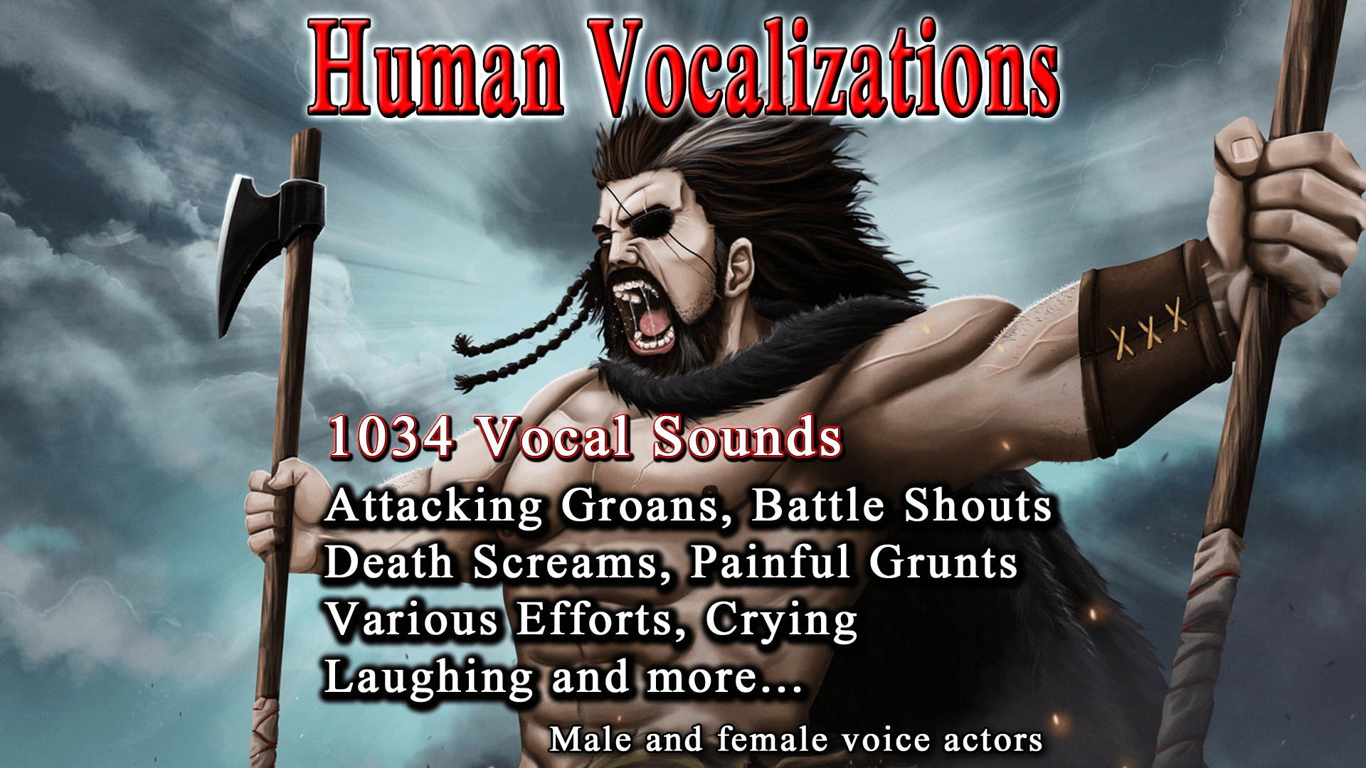 Human Vocalizations by Gamemaster Audio in Sound Effects