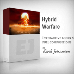 Hybrid Warfare is a seamlessly looping, interactive music library. It's perfect for the game developer that wants dynamic music in his/her game. The library contains full compositions, which all has four different loops attached with their intensities.