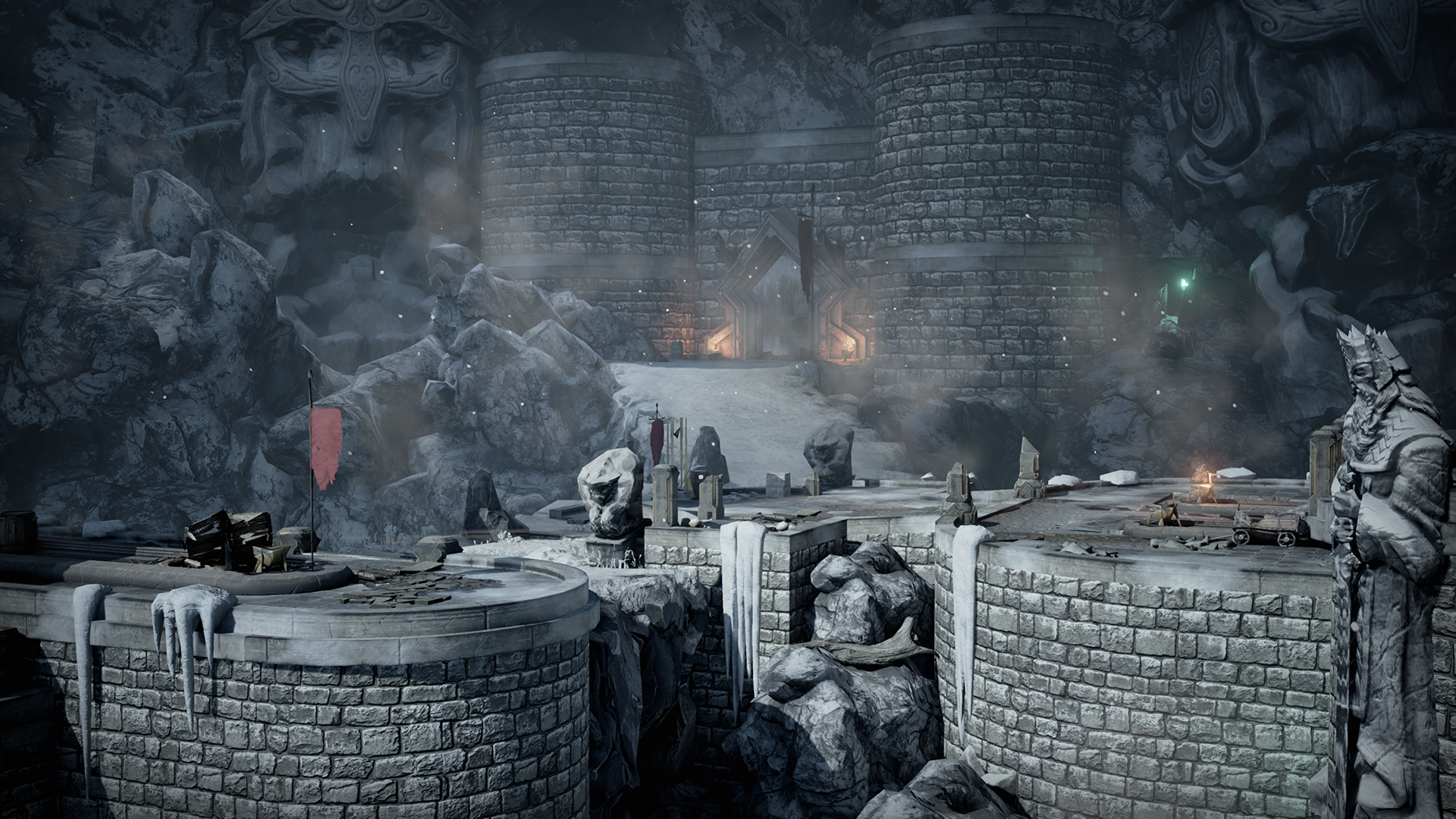 Infinity Blade Ice Lands By Epic Games In Epic Showcase Environments Ue4 Marketplace