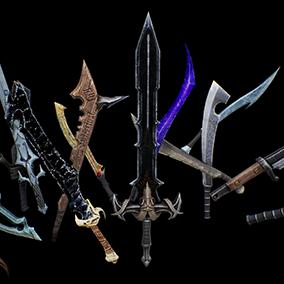 Infinity Blade: Weapons is the vast range of melee weaponry within the Infinity Blade Collection.