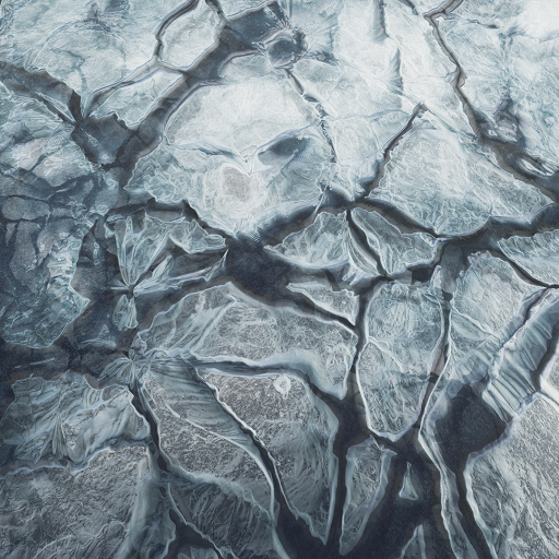 Huge library of ice materials (5) / (91) instances and textures (67). Pack contain materials for lake and rivers (transparent) and models (lit).