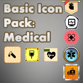 Basic, easy to use set of Medical icons, useful for any project, with an accompanying 40 background images to choose from.
