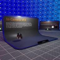 摄像机内VFX示例项目分步骤介绍了虚幻引擎极具突破性的,用LED墙进行实时真人制片技术的相关组件。