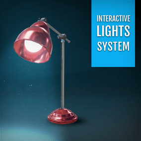 Set of advanced Blueprints to create interactive connection for lights and light switches.