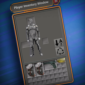A grid based Jigsaw inventory system using UMG and Blueprints for the Marketplace.