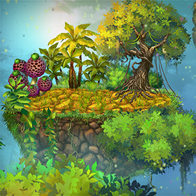 High-quality jungle assets.