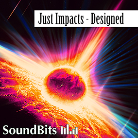 Just Impacts – Designed: This collection of 300 heavily designed cinematic impact sound effects make your trailers go BOOM!