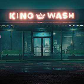 This project includes an external laundromat storefront and interior (everything pictured) with all assets, materials, and vfx created in the Unreal Engine. Each asset was created for realistic AAA quality visuals, style, and budget.