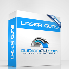Laser Guns  21 Main theme laser gun sound effects with multiple mix-outs and extra sub bass layers for more impact and punch!