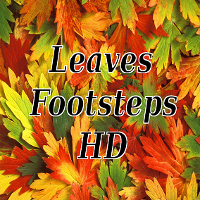 Leaves Footsteps, Most packs contain lots of footsteps most of which you never need. Your game is in a dark forest? Then you need footsteps on leaves! And this pack gives you just that, Leaves Footsteps.
