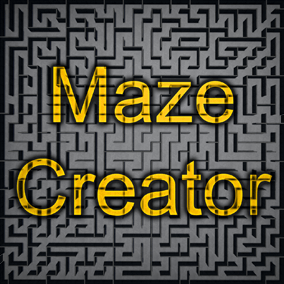 Maze Creator allows you to create completely random mazes in a matter of seconds!