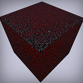 The Maze Generator allows you to create fully customizable procedurally generated mazes.