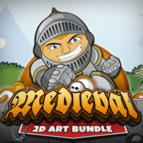 Medieval 2D Bundle is the perfect solution for epic sidescrolling games.