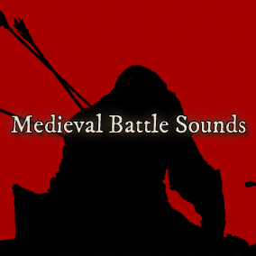 "The Medieval Battle Sounds Library is a collection of over 350 audio clips recorded specifically for this pack. They are organized in groups of 5 into layers of audio, such as ""Axe On Flesh"". Randomly combined there are tens of thousands of sounds."