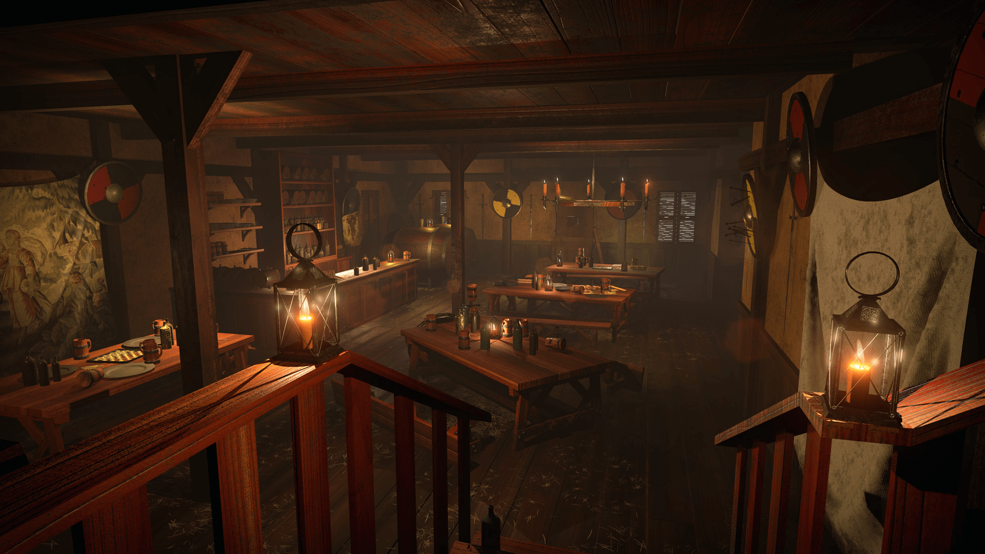 Cabin Games Room