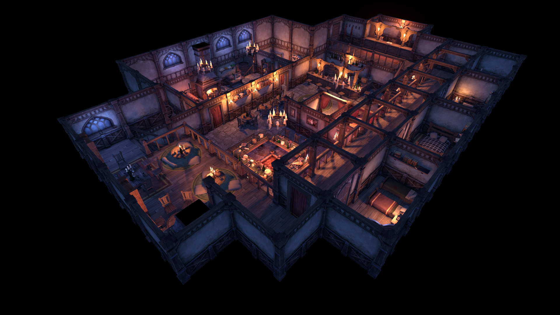 Medieval Inn And Tavern By Ennelia Studio In Environments