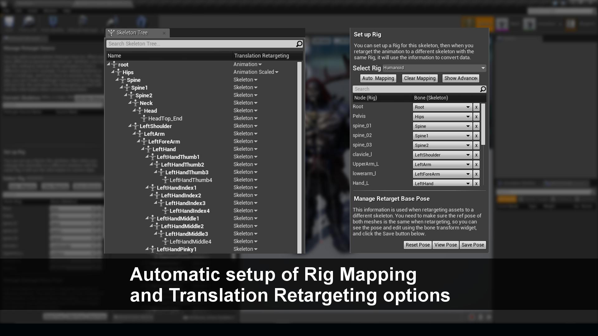 Mixamo Animation Retargeting by UNAmedia in Code Plugins