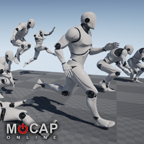 237+ Mobility Motion Capture Animations