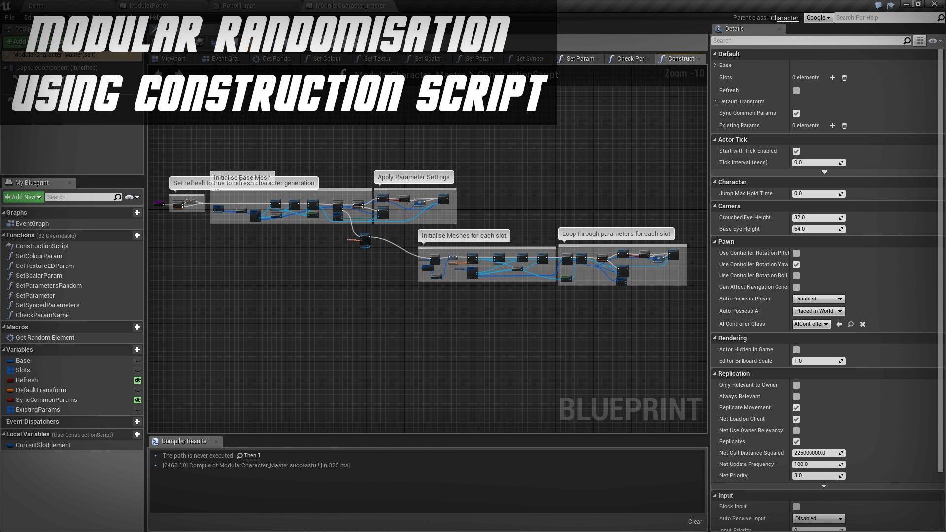 Modular characters blueprint by regan ware in blueprints ue4 share malvernweather Choice Image