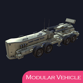 Create your own war machines with this complete modular vehicle solution.