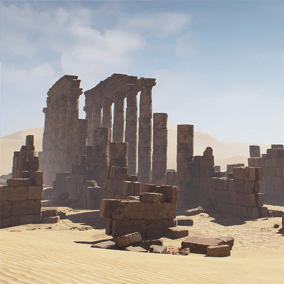 Create your mystical ruins layout with this highly detailed modular set.