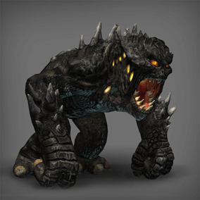 This huge monster will smash every single bone of any enemy daring to face it.