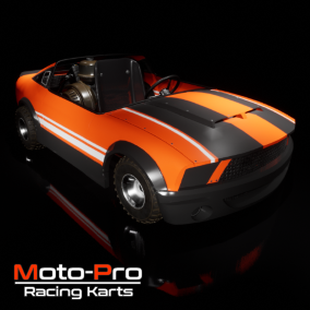 This package features a Dirt Kart and a Street Kart with driver, driver eject, and vehicle crash system. Vehicles also feature Air Control, Physics Jump, Fuel and Damage System, and much more.