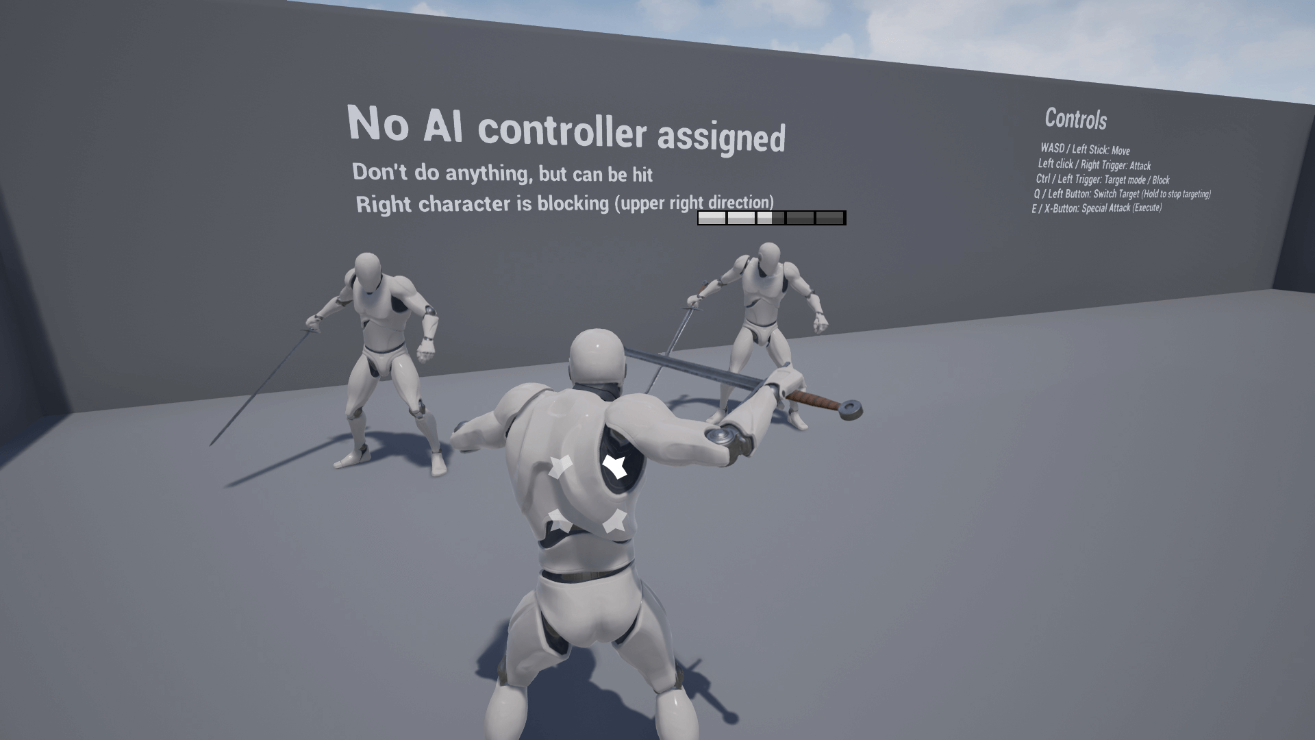 Multiplayer Melee Combat System by CB Productions in Blueprints