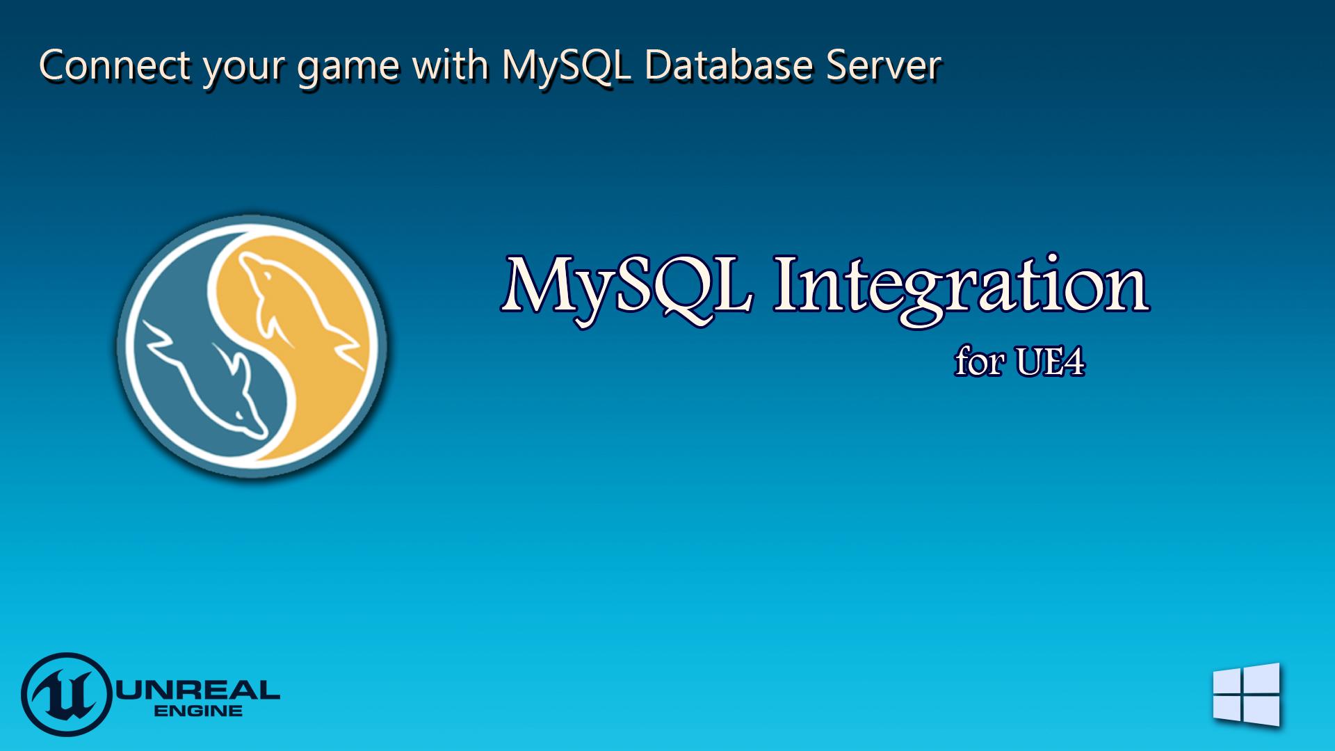 Mysql integration by sameek kundu in code plugins ue4 marketplace share malvernweather Choice Image