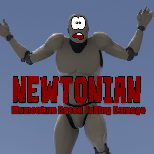 Newtonian is an advanced system that allows you to drag and drop a momentum-fueled falling damage system to your projects.