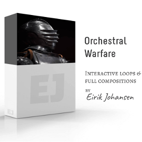 Orchestral Warfare is a seamlessly looping, interactive music library. It's perfect for the game developer that wants dynamic music in his/her game. The library contains full compositions, with three of them containing many different versions of the piece