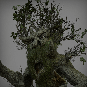 This Oak Tree Ent can hide within the scenery and attack by surprise with dangerous attacks!