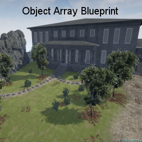Quickly array objects out in the XYZ coordinates with a lot of customization using the modifiers.