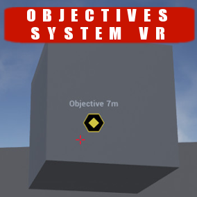 Blueprint system that allows ​you to ​draw 3D marker in VR and ​add objective​s in easy way​.
