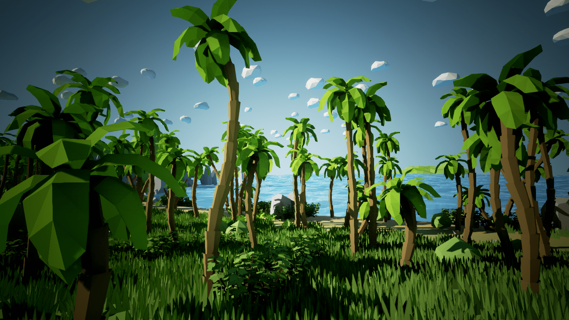 Olbert's Low Poly: Coast by Whitman And Olbert in