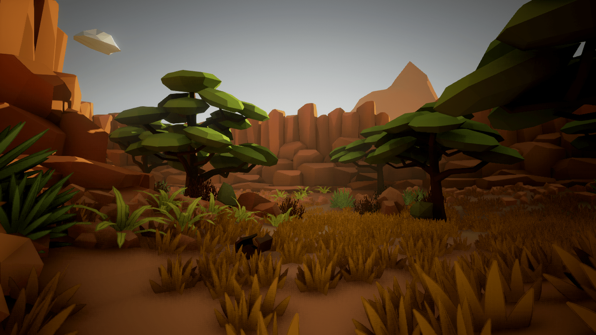 Olbert's Low Poly: Desert by Whitman And Olbert in