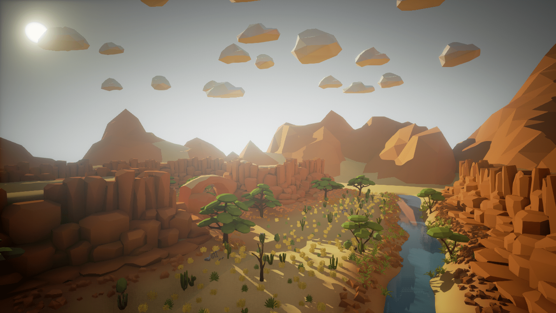 olbert s low poly desert by whitman and olbert in