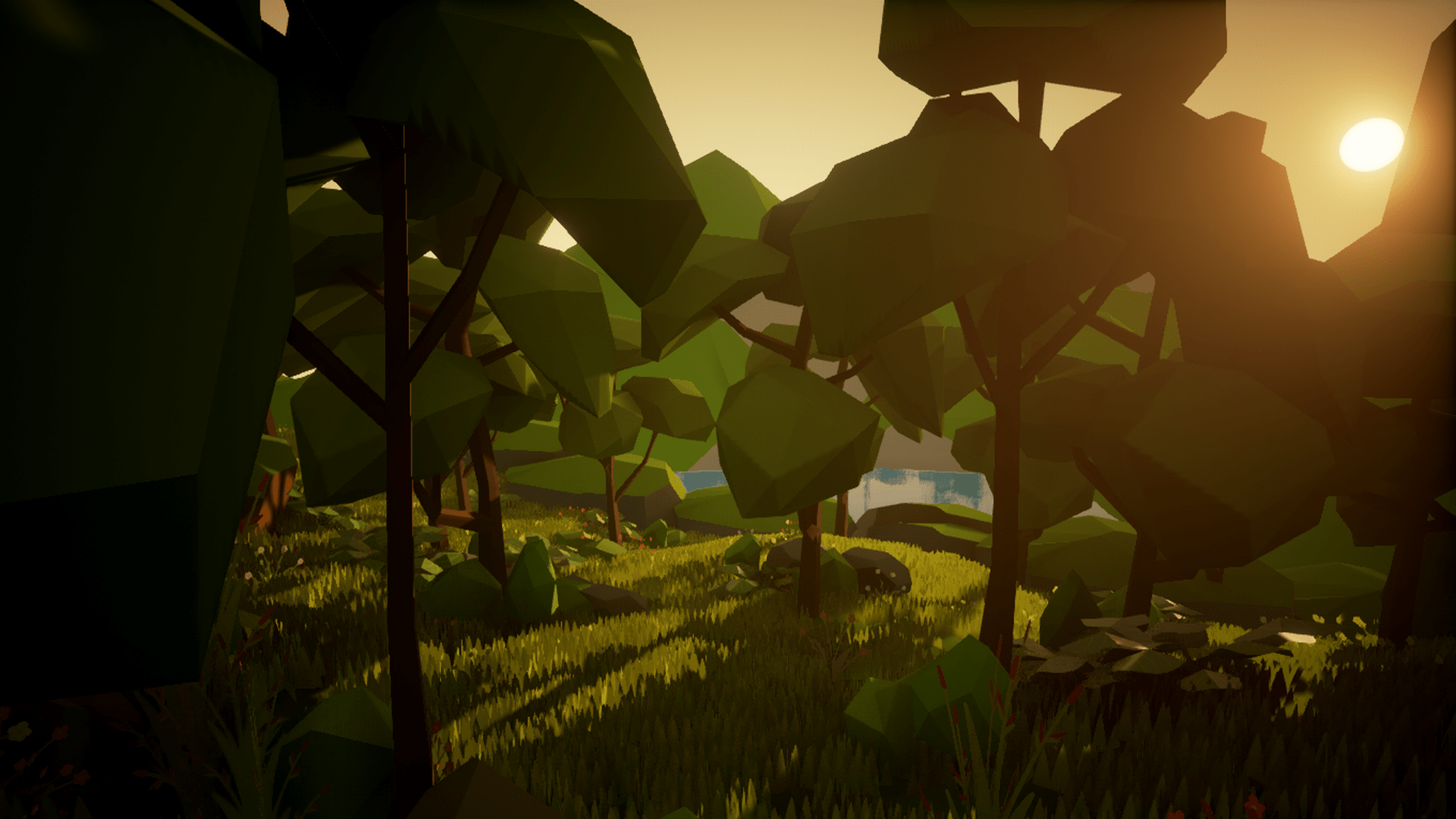 Olbert's Low Poly: Forest by Whitman And Olbert in